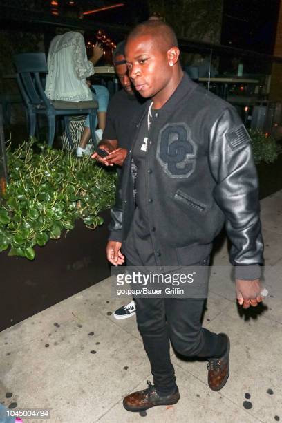 T Genasis is seen on October 02 2018 in Los Angeles California