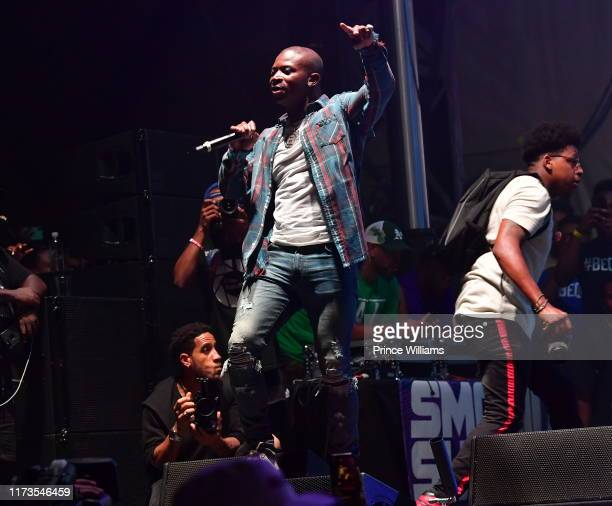 T Genasis performs at the 10th Annual ONE Musicfest at Centennial Olympic Park on September 8 2019 in Atlanta Georgia