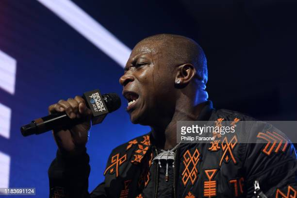 Genasis performs onstage at the REVOLT X ATT 3Day Summit In Los Angeles Day 2 at Magic Box on October 26 2019 in Los Angeles California