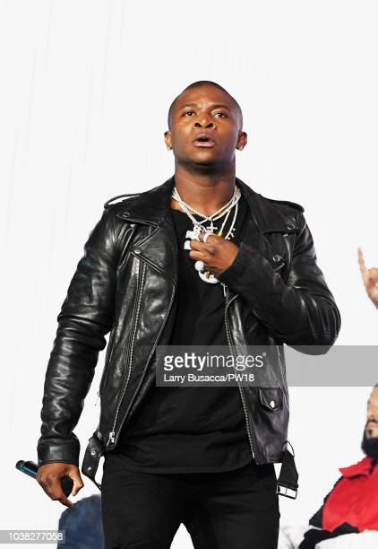 T Genasis performs onstage during the 'On The Run II' Tour at Rose Bowl on September 22 2018 in Pasadena California