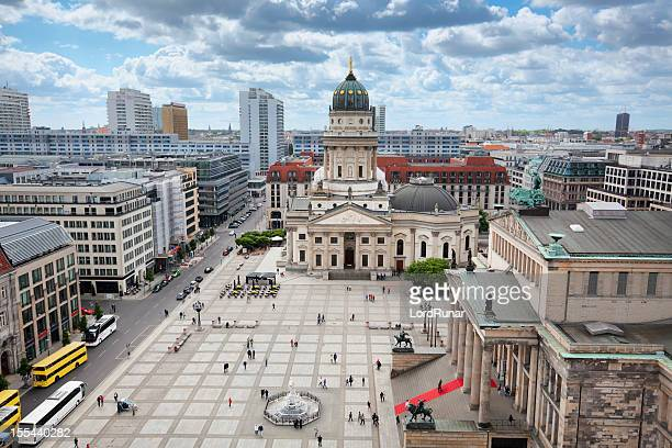 gendarmenmarkt, berlin - central berlin stock pictures, royalty-free photos & images