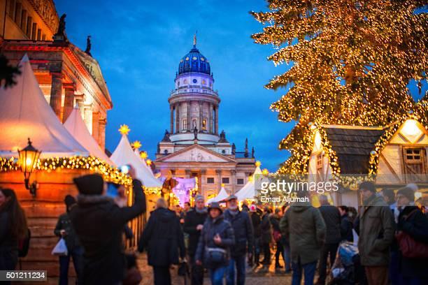 Gendarmenmarkt Christmas Market, Berlin, Germany