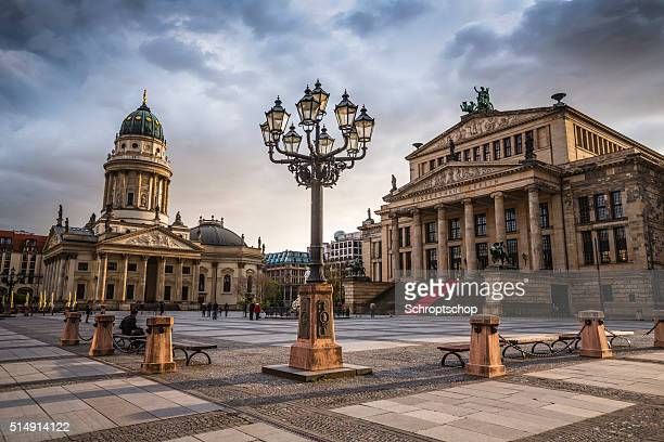 gendarmenmarkt in berlin, germany - central berlin stock photos and pictures