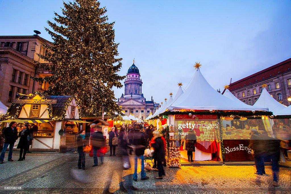 Gendarmenmarkt, Berlim, Alemanha : Foto de stock