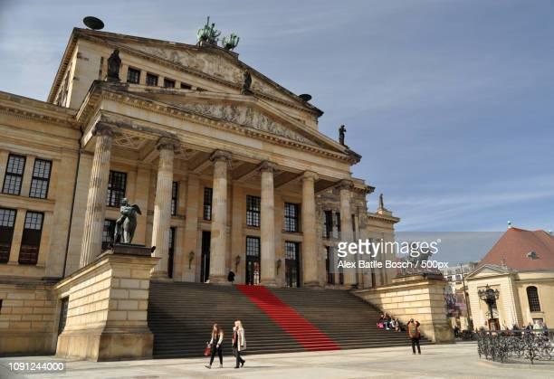 gendarmenmarkt - konzerthaus berlin - fotografias e filmes do acervo