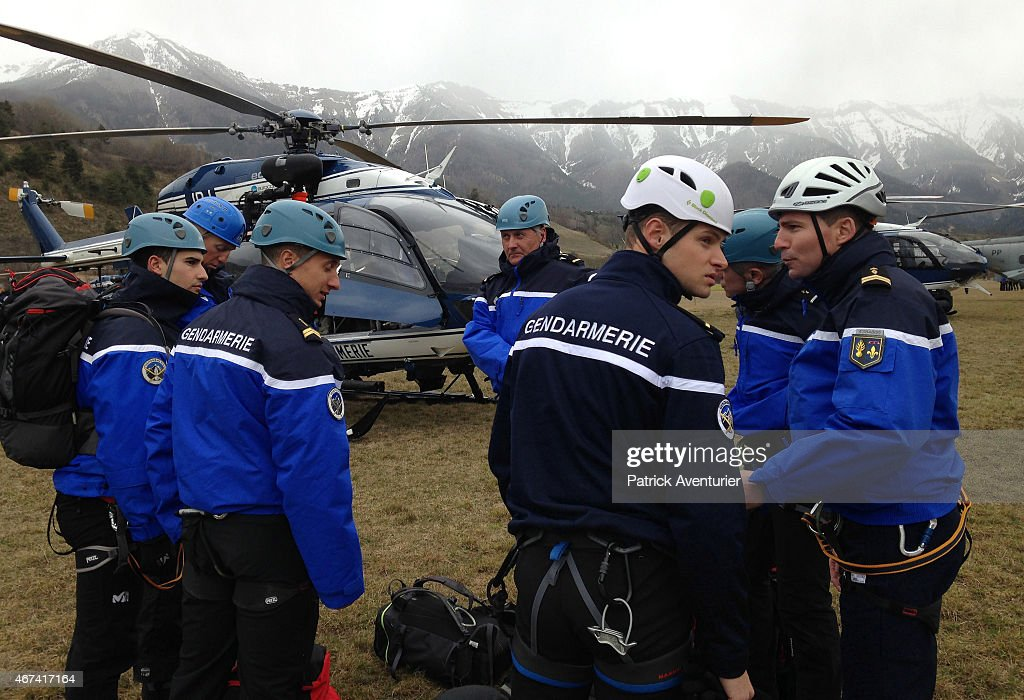 German Airbus A320 Crashes In Southern French Alps : News Photo