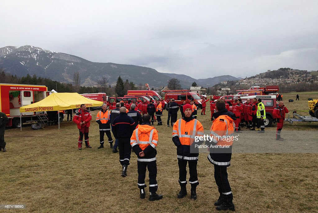 German Airbus A320 Crashes In Southern French Alps : ニュース写真