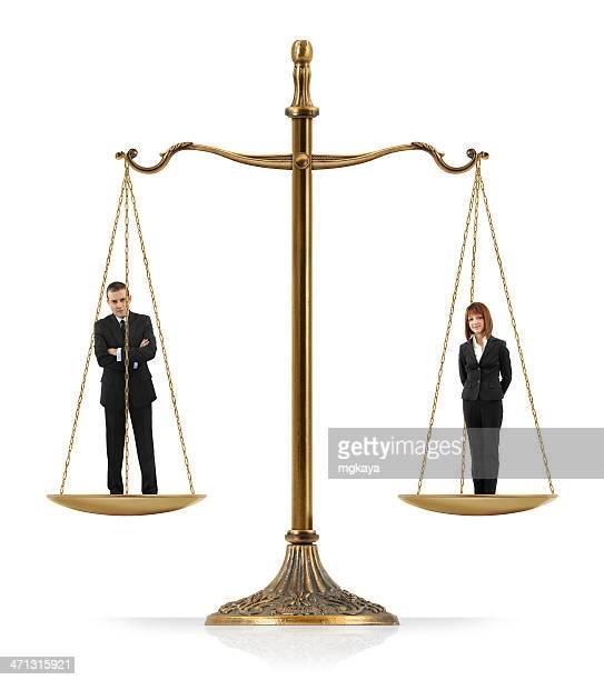A igualdade entre homens e mulheres