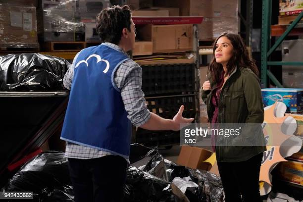 SUPERSTORE Gender Reveal Episode 320 Pictured Ben Feldman as Jonah America Ferrera as Amy