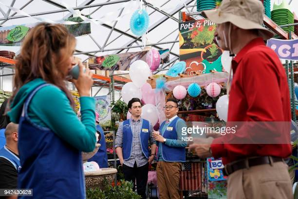 SUPERSTORE Gender Reveal Episode 320 Pictured Ben Feldman as Jonah Nico Santos as Mateo