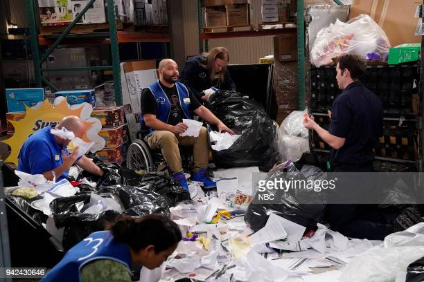 SUPERSTORE Gender Reveal Episode 320 Pictured Colton Dunn as Garrett Jon Barinholtz as Marcus