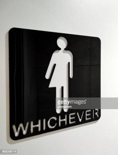 Geschlechtsneutrale Bad Zeichen