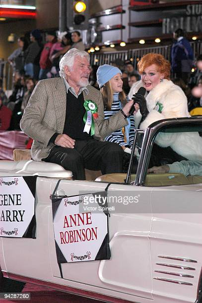 Gene Barry and Ann Robinson at the 72nd Hollywood Christmas Parade 2003