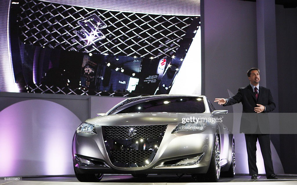 Gene Brown Vice President Of Marketing For Suzuki Motor Cor