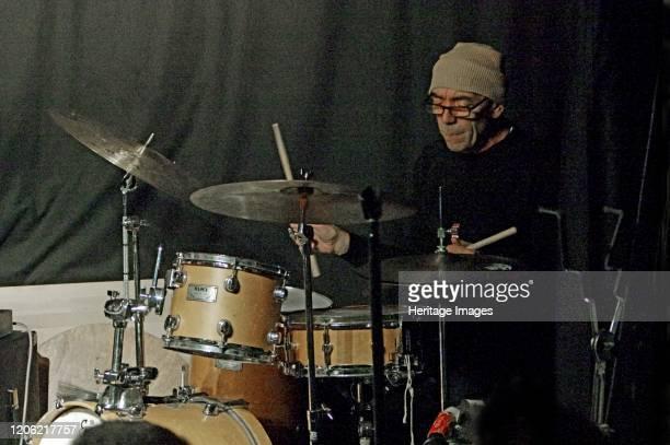 Gene Calderazzo, Zone-B, Verdict Jazz Club, Brighton, East Sussex, 13 Dec 2019. Artist Brian O'Connor.
