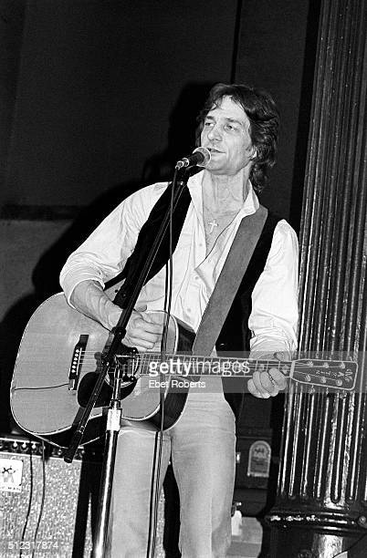 Gene Clark performing with McGuinn Clark and Hillman at the Bottom Line in New York City on February 23 1979