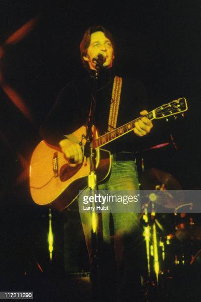 Gene Clark performs at Freeborn Hall in Davis California on January 1 1977