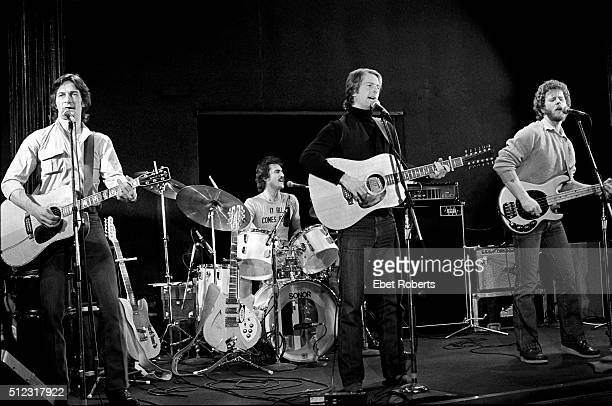 Gene Clark Roger McGuinn and Chris Hillman performing at the Bottom Line in New York City on February 23 1979