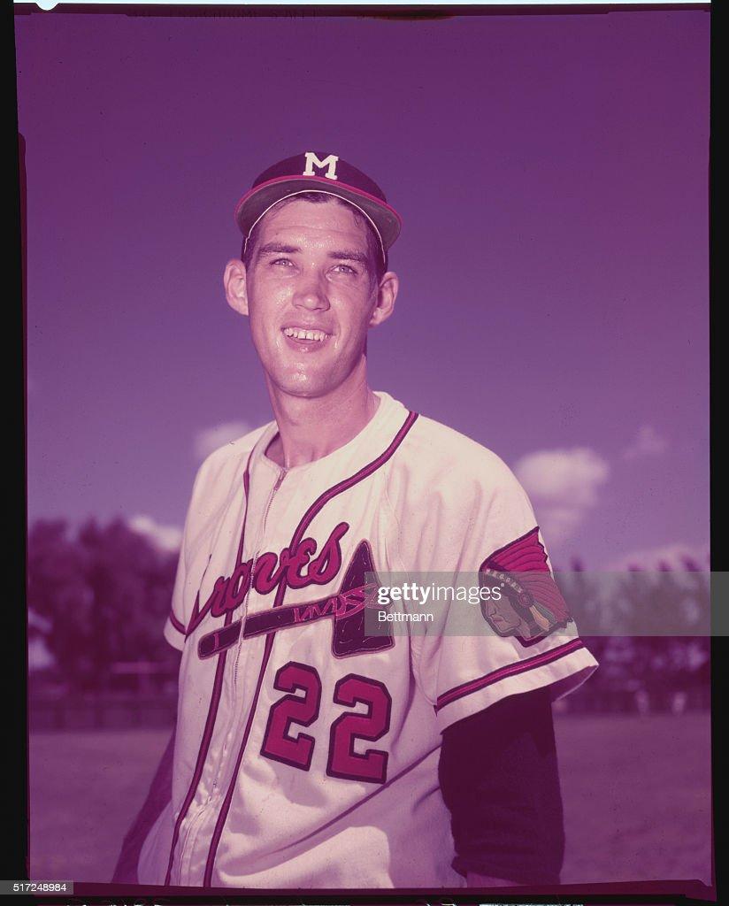Portrait of Gene Conley : News Photo