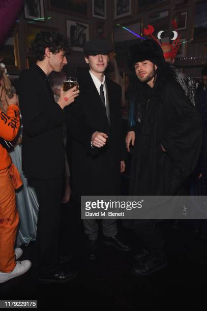 Gene Gallagher attends The Cursed Voyage of HMS Berners in collaboration with Project 0 and Grey Goose at The London EDITION on October 31 2019 in...