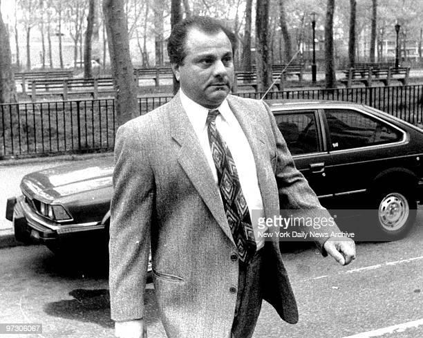 Gene Gotti arrives at Brooklyn Federal Court