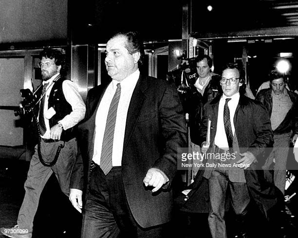 Gene Gotti leaves Brooklyn Federal Court after being found guilty