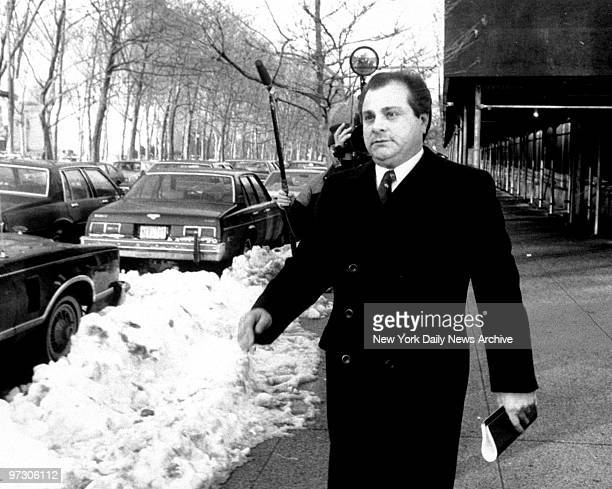 Gene Gotti leaves Brooklyn Federal Court