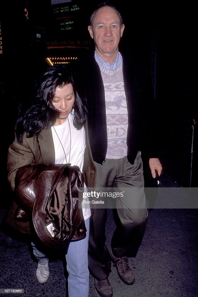 """Gene Hackman Sighting at Play Performance of """"Death and the Maiden"""" on February 23, 1992 : News Photo"""
