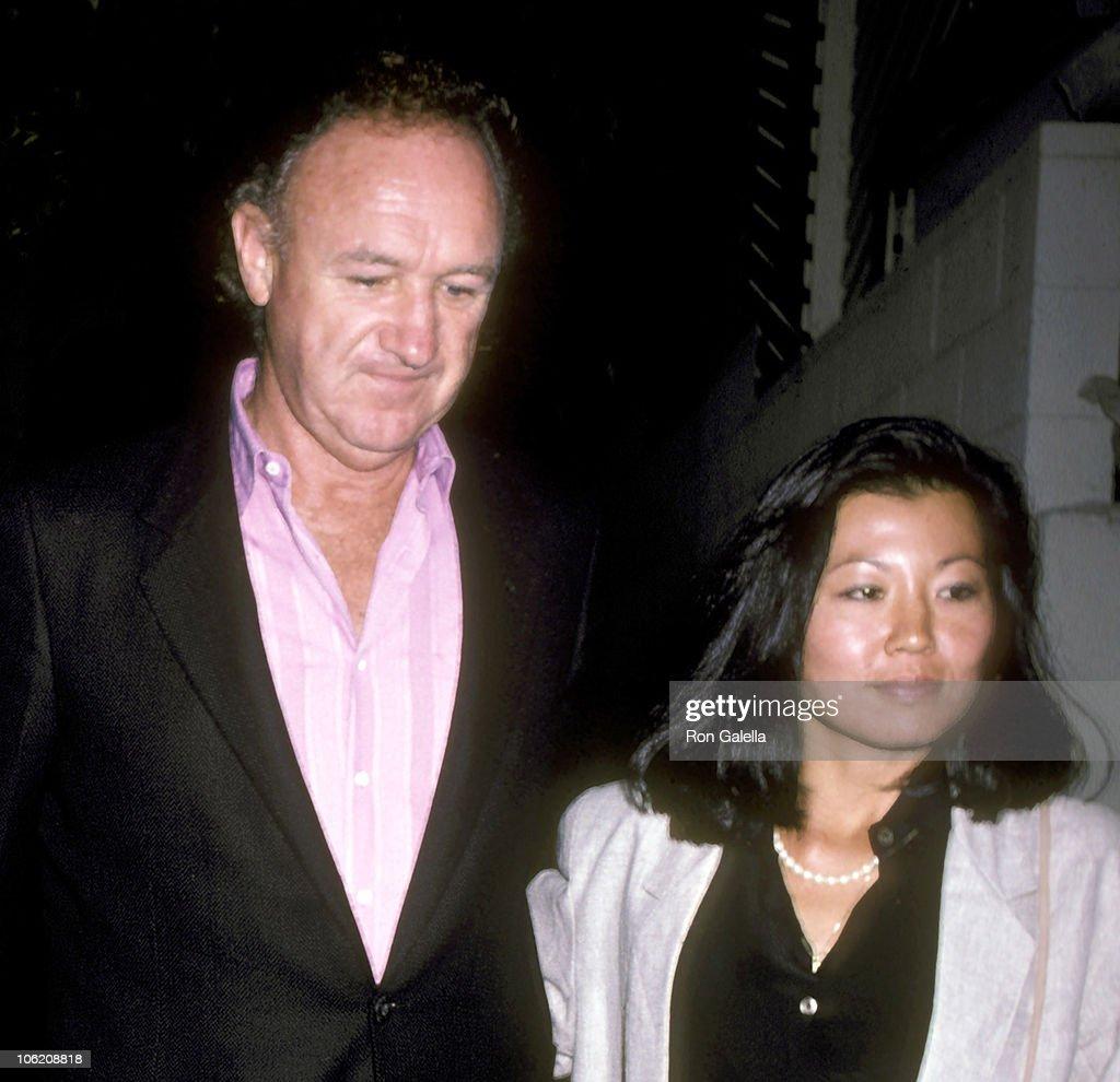 Gene Hackman Sighting at Spago - September 5, 1986 : News Photo