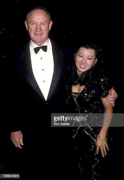 Gene Hackman and Betsy Arakawa during The 46th Annual Golden Globe Awards Arrivals at The Beverly Hilton Hotel in Beverly Hills California United...