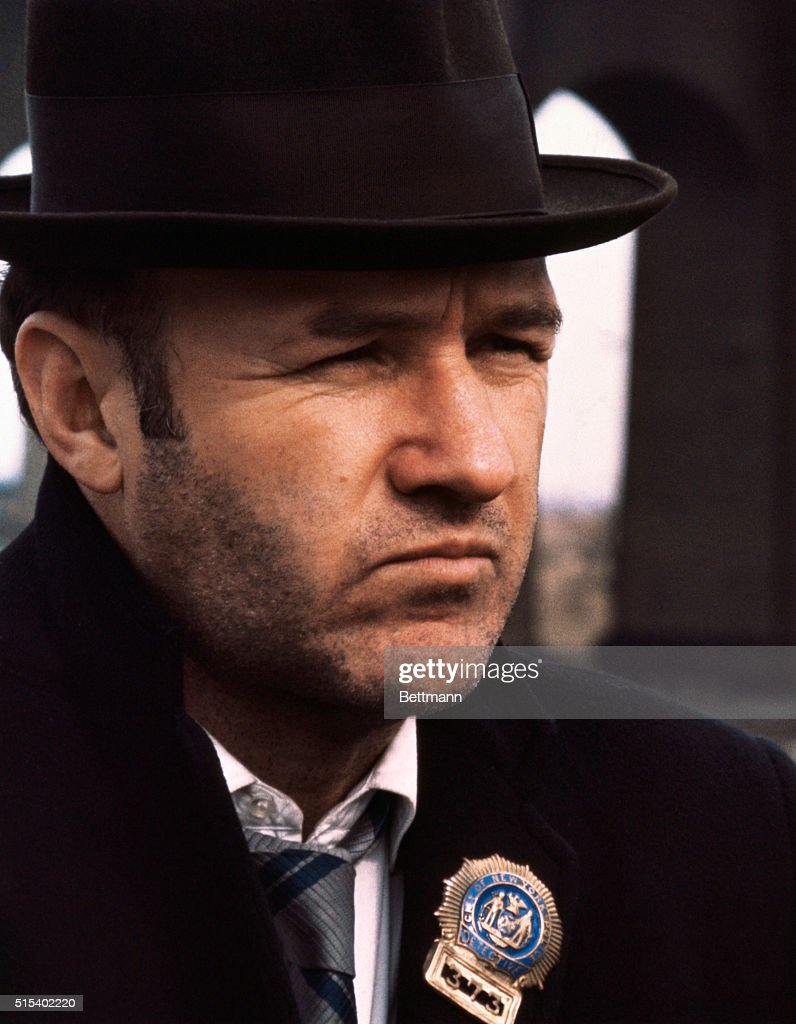 38670305 Gene Hackman as Popeye Doyle in the movie The French Connection ...