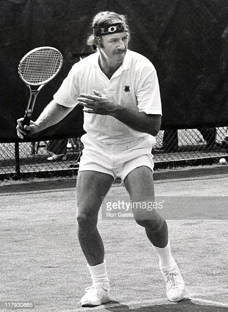Gene Hackman during The 2nd annual RFK ProCelebrity Tennis Tournament August 25 1973 at Forest Hills Stadium in Forest Hills New York United States