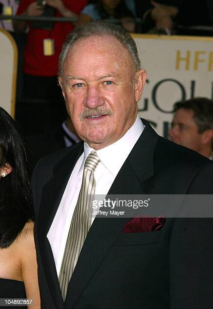 Gene Hackman during The 60th Annual Golden Globe Awards Arrivals at The Beverly Hilton Hotel in Beverly Hills California United States