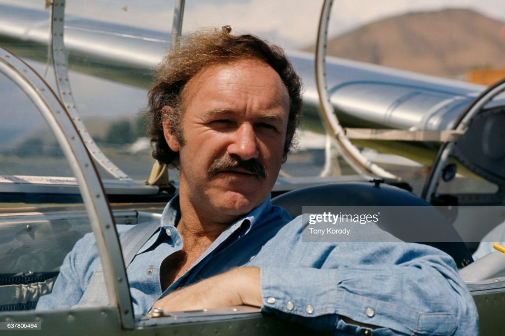 Gene Hackman in Glider During Brut Film Festival