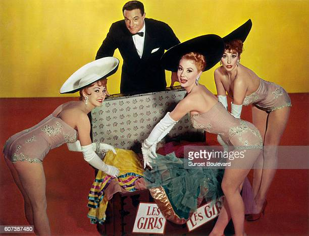 Gene Kelly stars alongside Taina Elg Mitzi Gaynor and Kay Kendall in the 1957 George Cukor film Les Girls