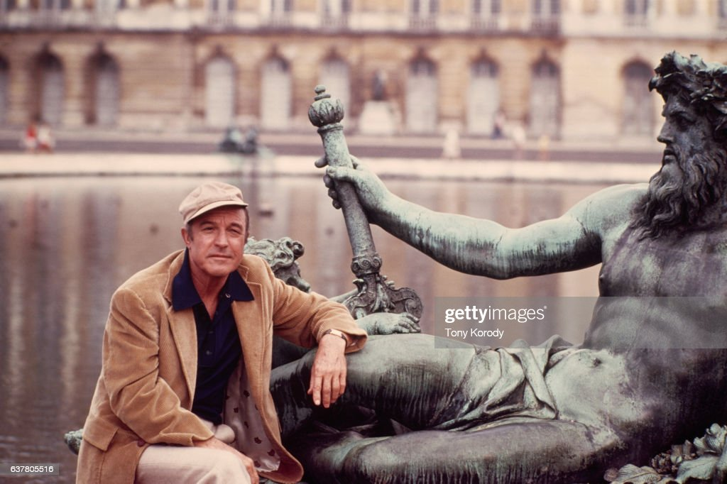 Gene Kelly Visiting Versailles