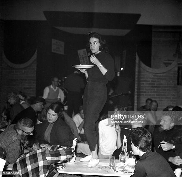 Gene Nelson at Pandora's Coffee House on Sunset Boulevard in Los AngelesCalifornian nGene Nelson