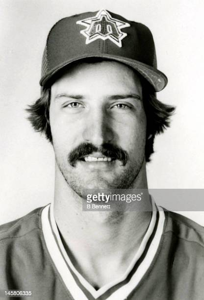 Gene Nelson of the Seattle Mariners poses for a portrait circa 1984 in Seattle Washington