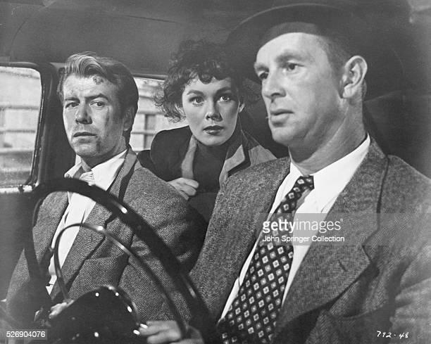 Gene Nelson Phillis Kirk and Sterling Hayden in Crime Wave