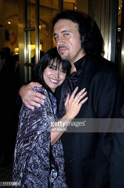 Gene Simmons and Devin DeVasquez during Grand Opening Party for the Whisper LoungeExclusive Inside Coverage at The Whisper Lounge in Los Angeles...