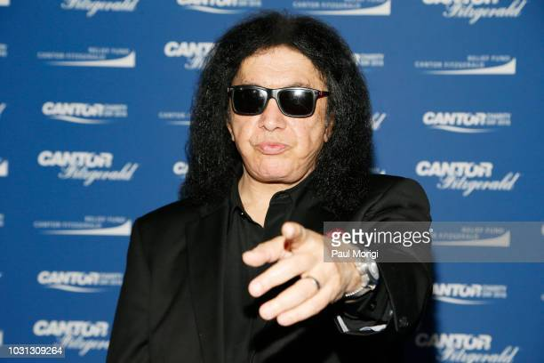 Gene Simmons attends the Annual Charity Day hosted by Cantor Fitzgerald, BGC and GFI at Cantor Fitzgerald on September 11, 2018 in New York City.