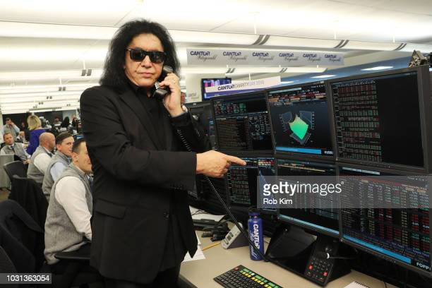 Gene Simmons attends the Annual Charity Day hosted by Cantor Fitzgerald BGC and GFI at Cantor Fitzgerald on September 11 2018 in New York City