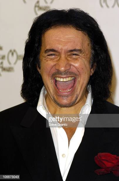 Gene Simmons during 32nd Annual American Music Awards Press Room at Shrine Auditorium in Los Angeles California United States