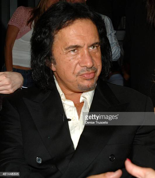 Gene Simmons during Gene Simmons' Birthday Party August 25 2005 at The Palms Hotel and Casino Resort in Las Vegas Nevada