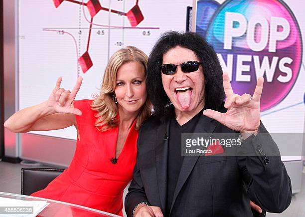 AMERICA Gene Simmons is a guest on 'Good Morning America' 9/16/15 airing on the ABC Television Network