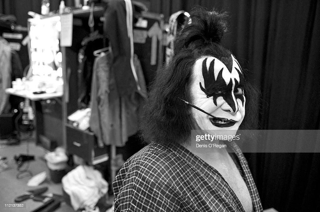 Gene Simmons of KISS in Helsinki, 2008.