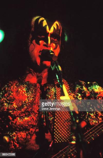 Gene Simmons of Kiss in San Francisco 1979