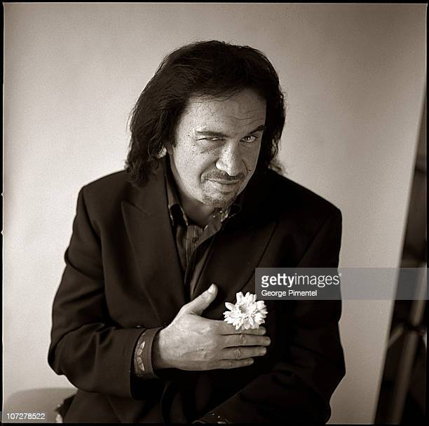 Gene Simmons Promotes his solo CD 'Asshole' during Portrait of Gene Simmons Photographed March 30 2004 Promoting his Solo CD 'Asshole' at Four...