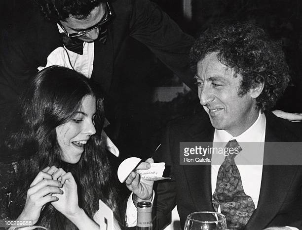 Gene Wilder and Daughter during 'Silver Streak' Premiere Party December 7 1976 at Tavern on the Green in New York City New York United States