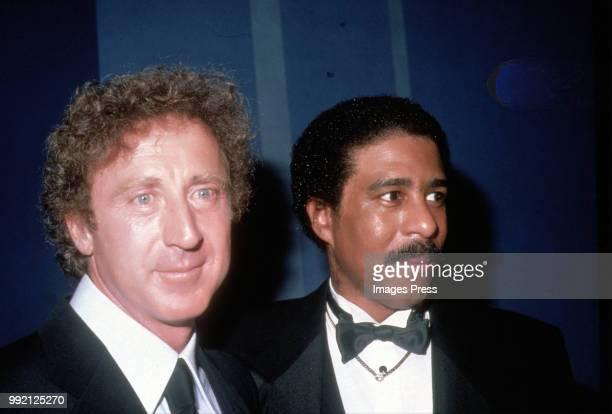 Gene Wilder and Richard Pryor circa 1980 in New York.